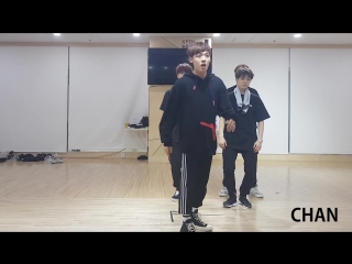 DANCE PRACTICE | 12.04.18 | Chan @ UNBs dance battle during their break time