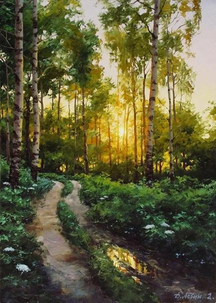 Дмитрий Лёвин  талантливый современный художник-пейзажист
