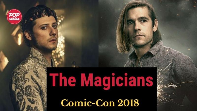 The Magicians 4ª temporada Jason Ralph e Hale Appleman