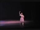 Фрагмент из балетной композиции Джорджа Баланчина Доницетти-вариации.