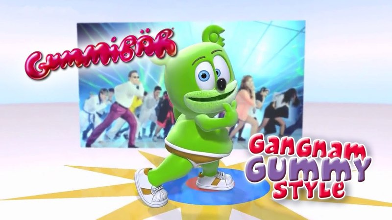 Gangnam Gummy Style Dance Gummibär The Gummy Bear Psy 싸이 Cover Song 강남스타일
