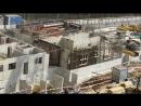 ЖК Эталон-Сити. Строительство детсада. Примерно 50% стен первого этажа уже готовы. Льют бетон и по ночам
