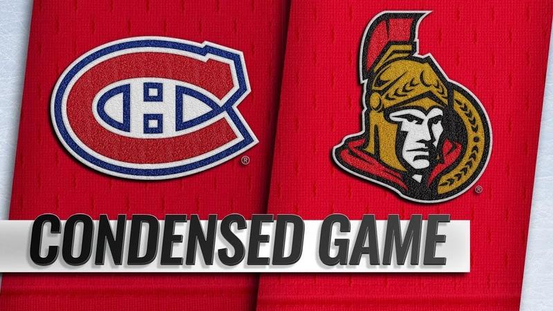 12/06/18 Condensed Game: Canadiens @ Senators