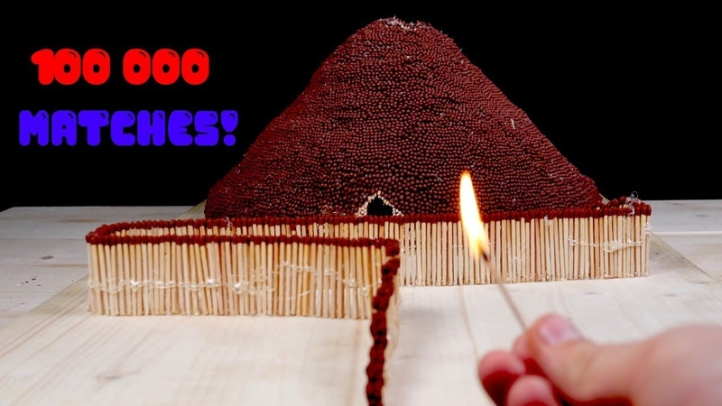 Match Chain Reaction Amazing Fire Domino VOLCANO ERUPITION
