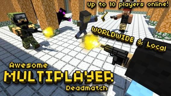 Скачать Pixel Gun 3D PRO Minecraft Ed для android