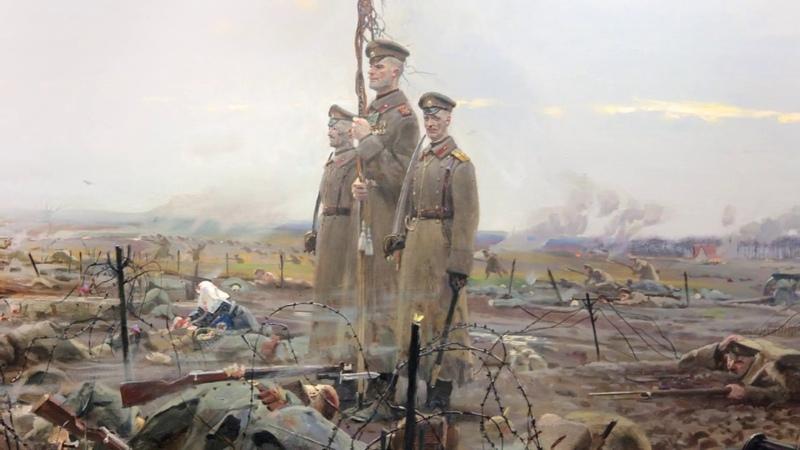 Musique militaire russe - Chant et marche du Régiment Préobrajensky