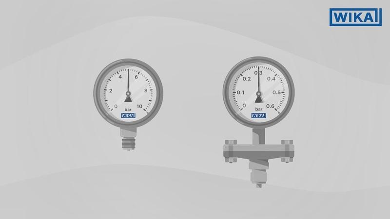 How does a pressure gauge work? | Bourdon tube vs. diaphragm element