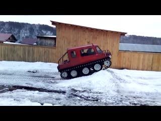 Снегоход-вездеход