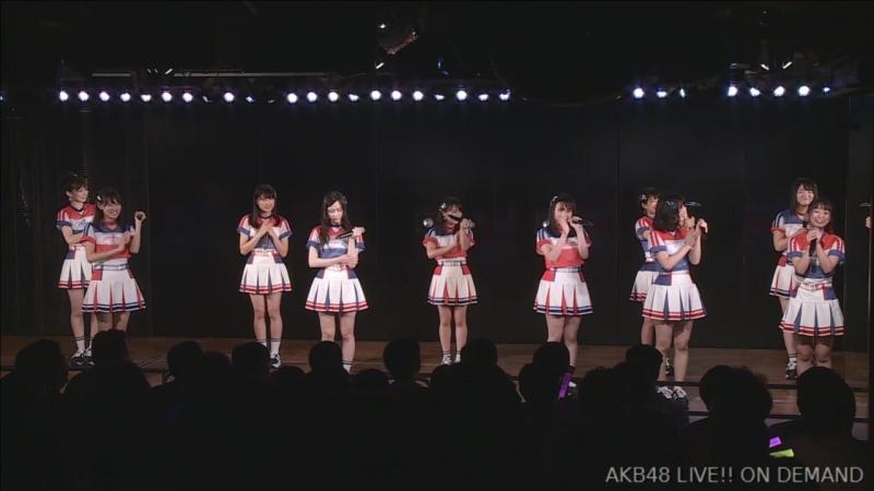 AKB48 Team 4 2nd Stage Te wo Tsunaginagara (День рождения Кавамото Саи 2018.09.04) [часть 1]