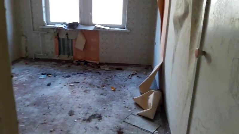 Чернобыль 2 Секретный городок СССР Часть 1 Заброшенные дома Медсанчасть Школа Плац Котельная