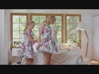 Mona Wales and Scarlett Sage - Like Stepmother Like Stepdaughter [Lesbian]