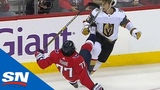 NHL Hits of The Week Week 2 - Benning Goes Through The Glass and Orlov Smashes Hall