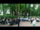 военный оркестр в летнем саду человек амфибия - песня о морском дьяволе