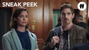 No Sleep 'Til Christmas | Sneak Peek: Get A Room | Freeform Original Movie
