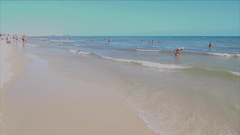 Тунис. Сусс. Пляж отеля Jinene.