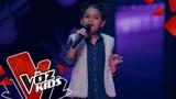 Camila canta Mientes tan bien Audiciones a Ciegas La Voz Kids Colombia 2019