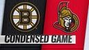 12/09/18 Condensed Game: Bruins @ Senators