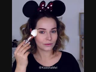 Идея макияжа с кистями DE.CO. Brilliants