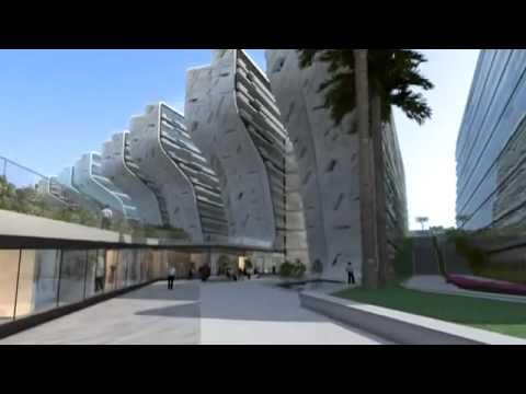 The Stone Towers by Zaha Hadid Architects