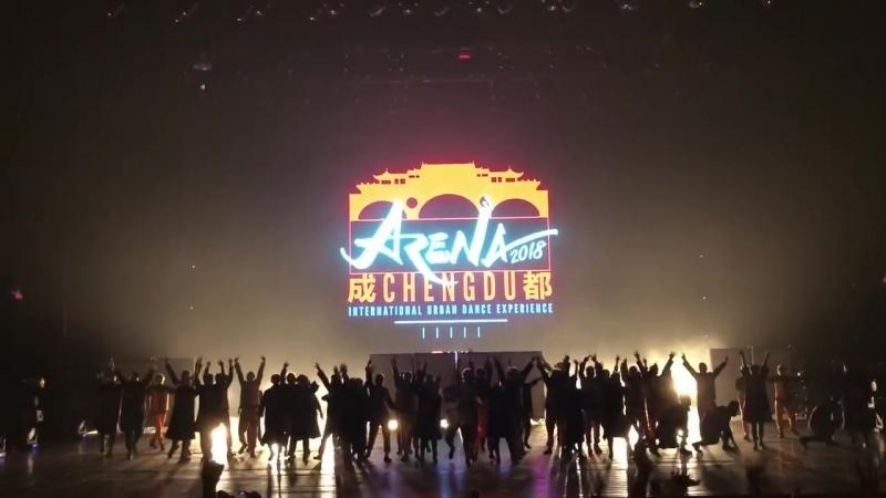 O-Dog Crew - NARUTO ナルト DANCE - ARENA 2018 Chengdu