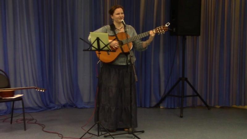 Екатерина Мирвис-Варкалова «Клонит ко сну…» (стихи и муз. Екатерины Мирвис-Варкаловой)