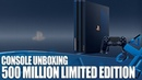 500 Million Limited Edition PS4 Pro Unboxing - The Most Beautiful PS4 Ever