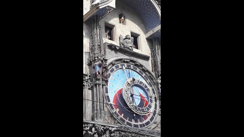 Пражские куранты. окт 18г.