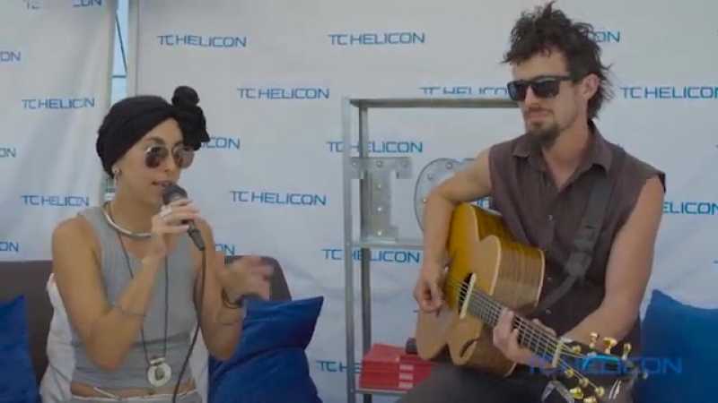 Rising Appalachia Swoon Live at the TC HELICON Tent