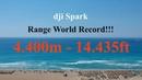 Dji Spark Range World Record 4400 meters - Emergency Landing -  FCC CE and sport+ hack !!