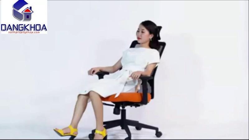 Ghế xoay lưới thiết kế thông minh - sản phẩm của nội thất Đăng Khoa
