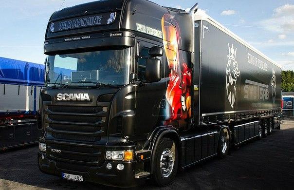 Фестиваль впечатляющих грузовиков