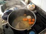 Как приготовить рыбный суп для детей?Рыбный суп. Детское меню.
