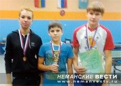 Неманские вести: В Ульяновской школе любят теннис