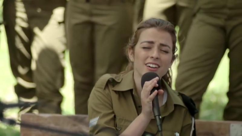 Israeli soldiers sing alongside Idan Raichel Hebrew songs Israel