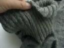 Мужской свитер связанный простым регланом расчёт петель Обзор