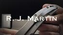 R J Martin Overkill заточка складного ножа Ножевая мастерская Knife SPA