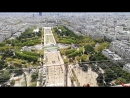 Париж с Эфелевой башни