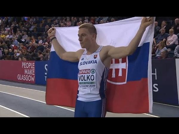JAN VOLKO IS THE 60m EUROPEAN CHAMPION! | European Athletics Indoor Championship Glasgow 2019