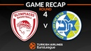 Highlights: Olympiacos Piraeus - Maccabi FOX Tel Aviv