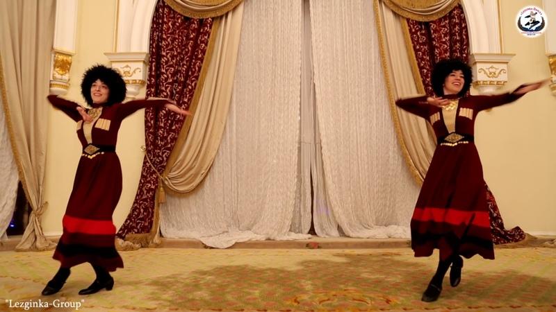Девичий горский перепляс Lezginka Dance Школа лезгинки Мухамеднура Султанова
