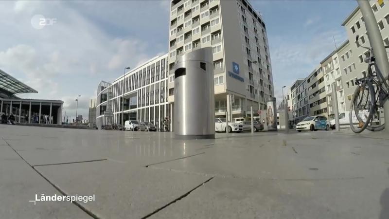 Luxus-Mülleimer in Köln - Hammer der Woche