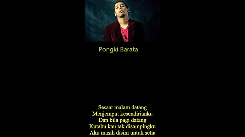 INDONESIA Singer Pongki Barata ft Mike Mohede Setia Loyal