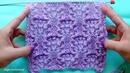 Ажурный узор розочками Вязание спицами 359