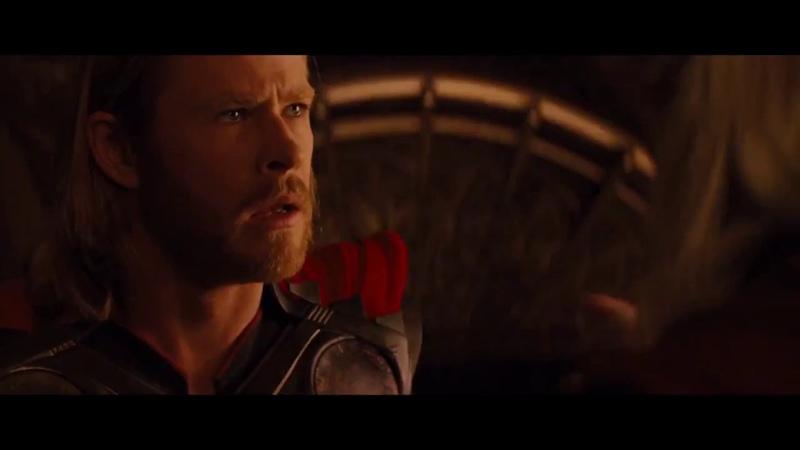 Тор - Один лишает Тора его силы и изгоняет из Асгарда