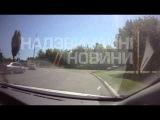 04 07 14  Жесть !! Момент Расстрела патруля ГАИ в Донецке Эксклюзив