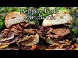 Pork Sandwich feat Mr. Ramsay the Owl