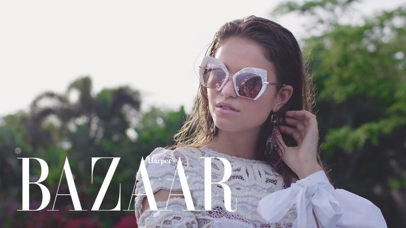 The Best Summer Looks Shot From the Sky in Maui | Harper's BAZAAR