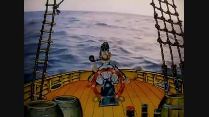 Приключения капитана Врунгеля. Все 13 серий подряд (1976-1979) _ Мультфильмы. Зо