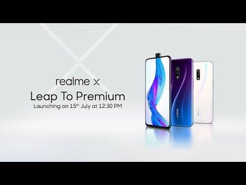 Realme X   Launch Event