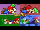 Evolution of Mario Luigi Series DEATHS and GAME OVER Screens (2003-2017)